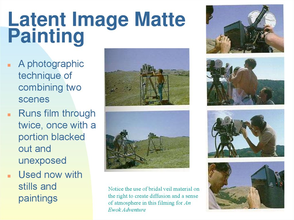 Latent Image Matte Painting