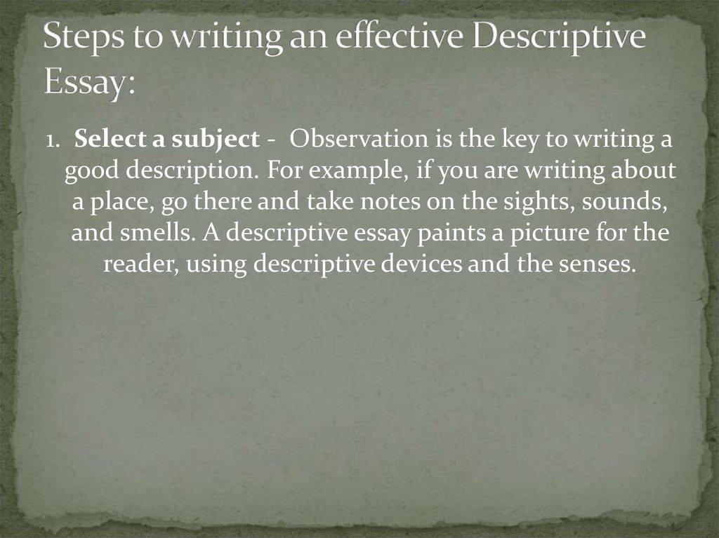 steps to write an effective essay Follow our advices and recommendations if you strive to know how to write steps, which make up a great essay: writing services | how to write good essays.