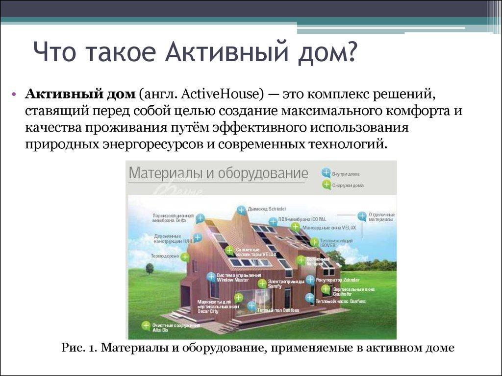 Активный дом и инженерные системы в нем катар и дубай википедия
