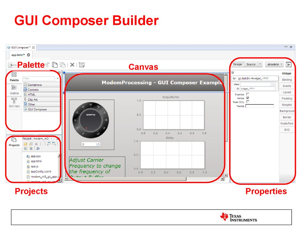 GUI Composer Builder