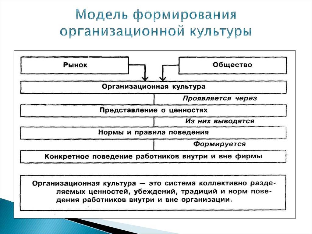 источники формирования организаонной культуры заключенных
