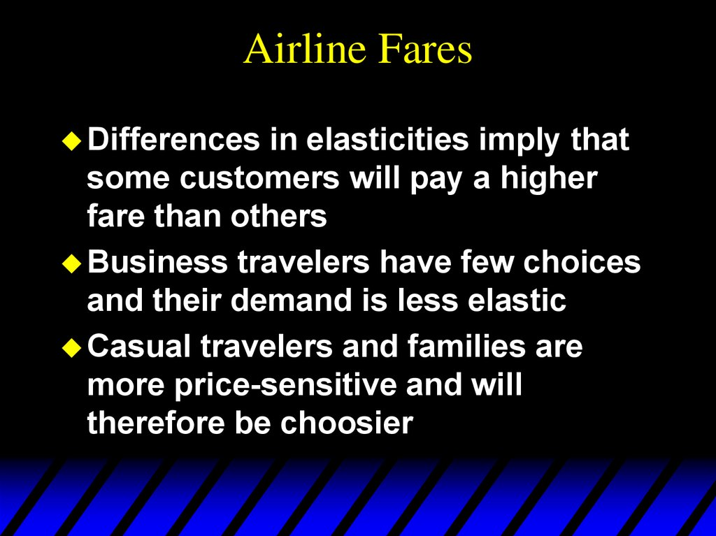 Airline Fares
