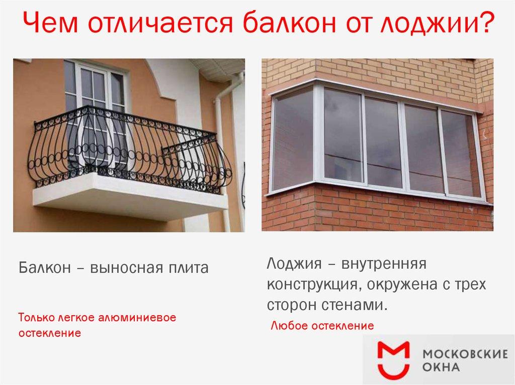 Отделка и утепление балконов и лоджий - презентация, доклад,.