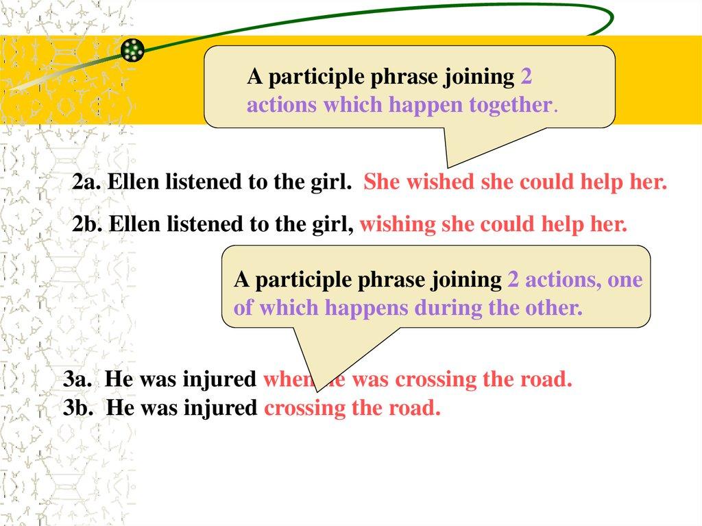 Participles What Are Participles