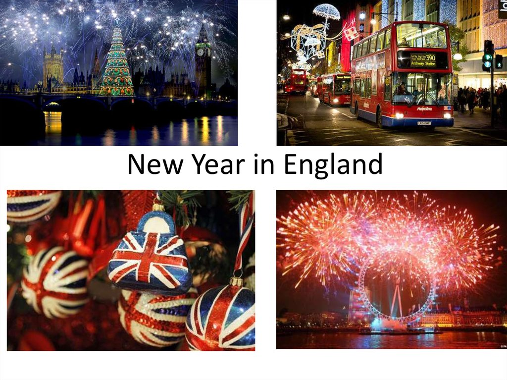 New Year in England