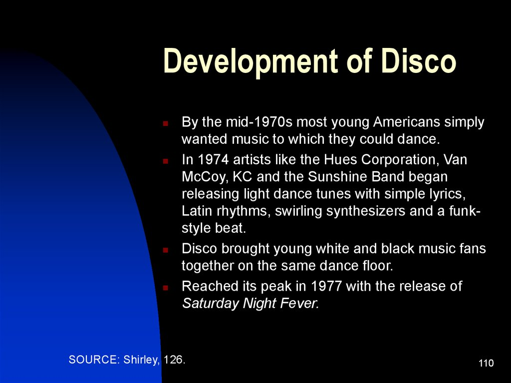Development of Disco