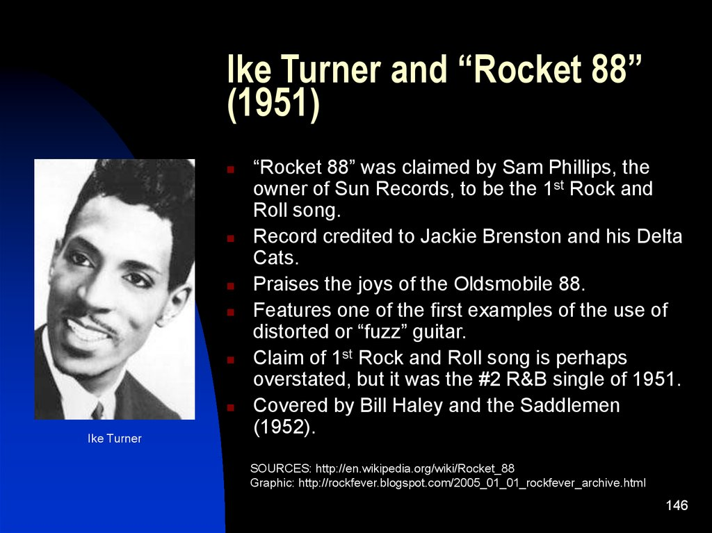 "Ike Turner and ""Rocket 88"" (1951)"
