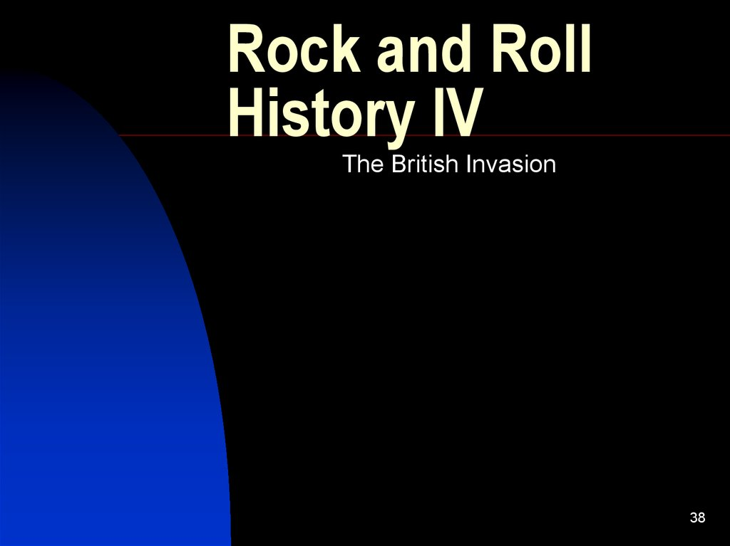Rock and Roll History IV