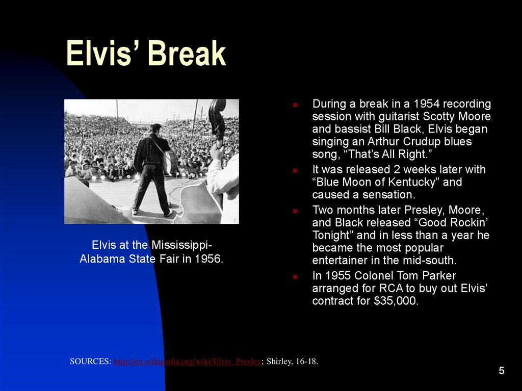 Elvis' Break