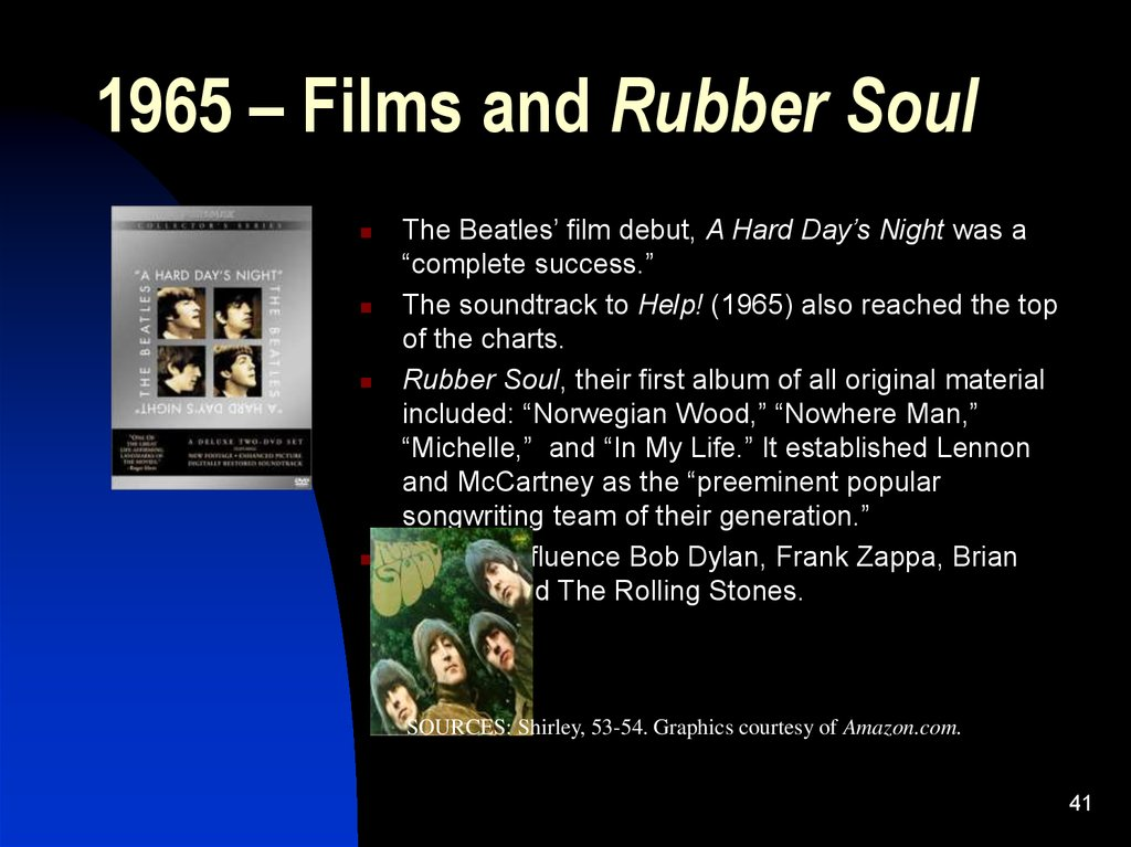 1965 – Films and Rubber Soul