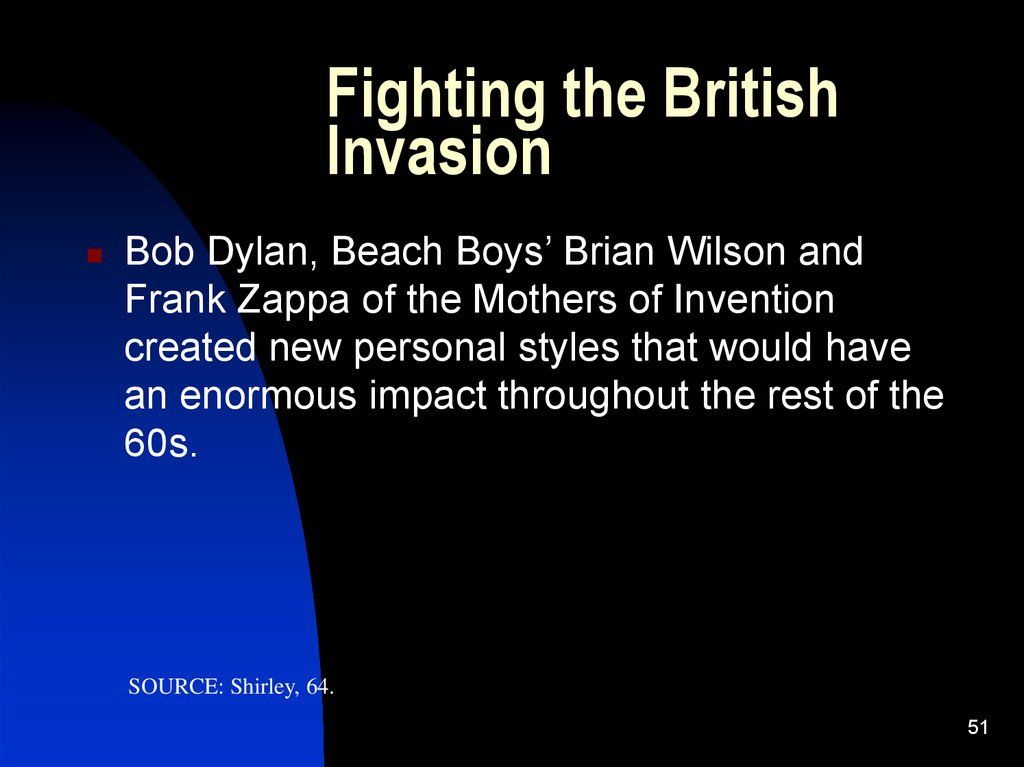 Fighting the British Invasion