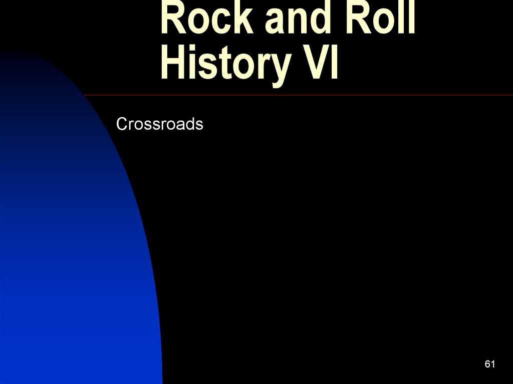 Rock and Roll History VI