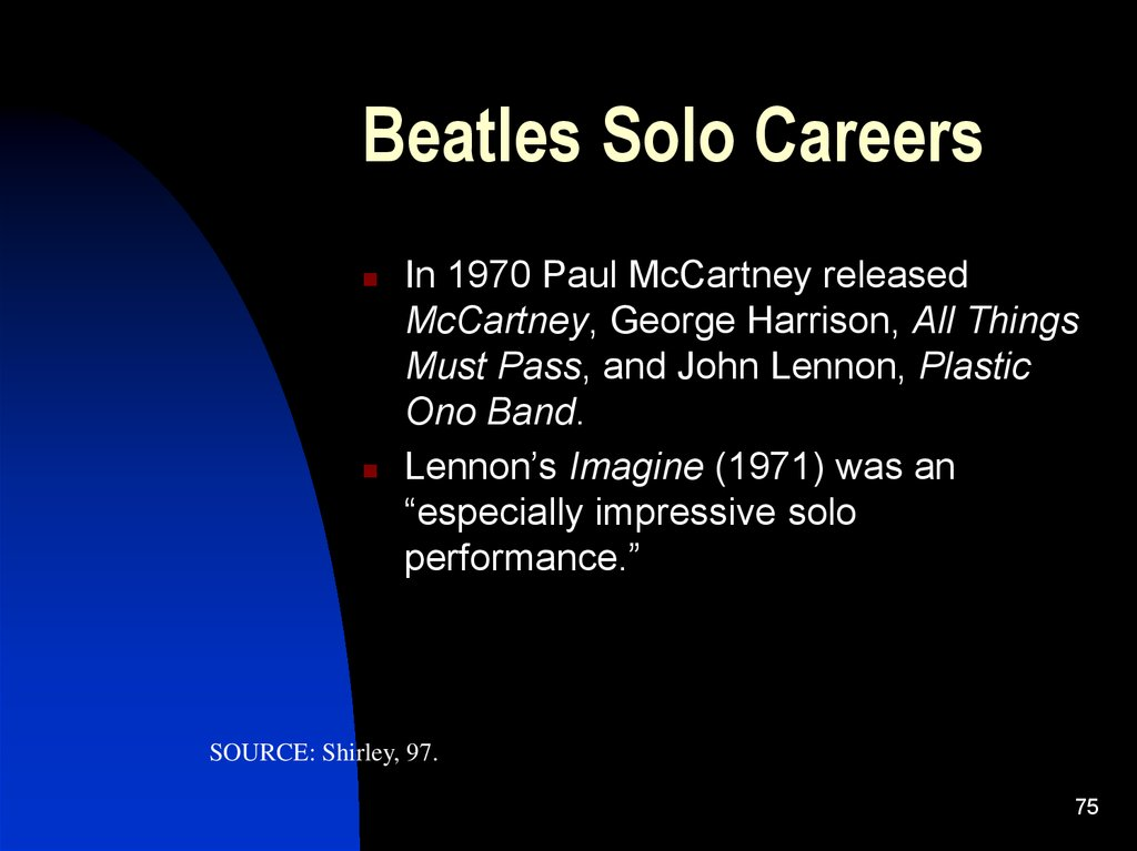Beatles Solo Careers