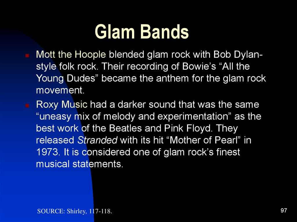 Glam Bands