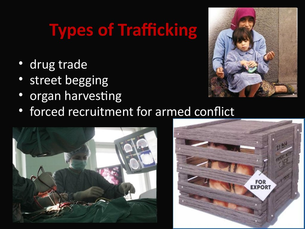 Types of Trafficking
