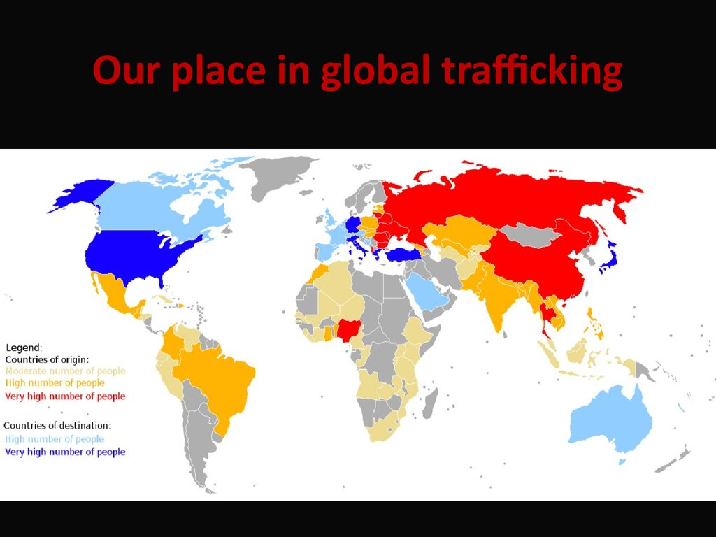 Our place in global trafficking