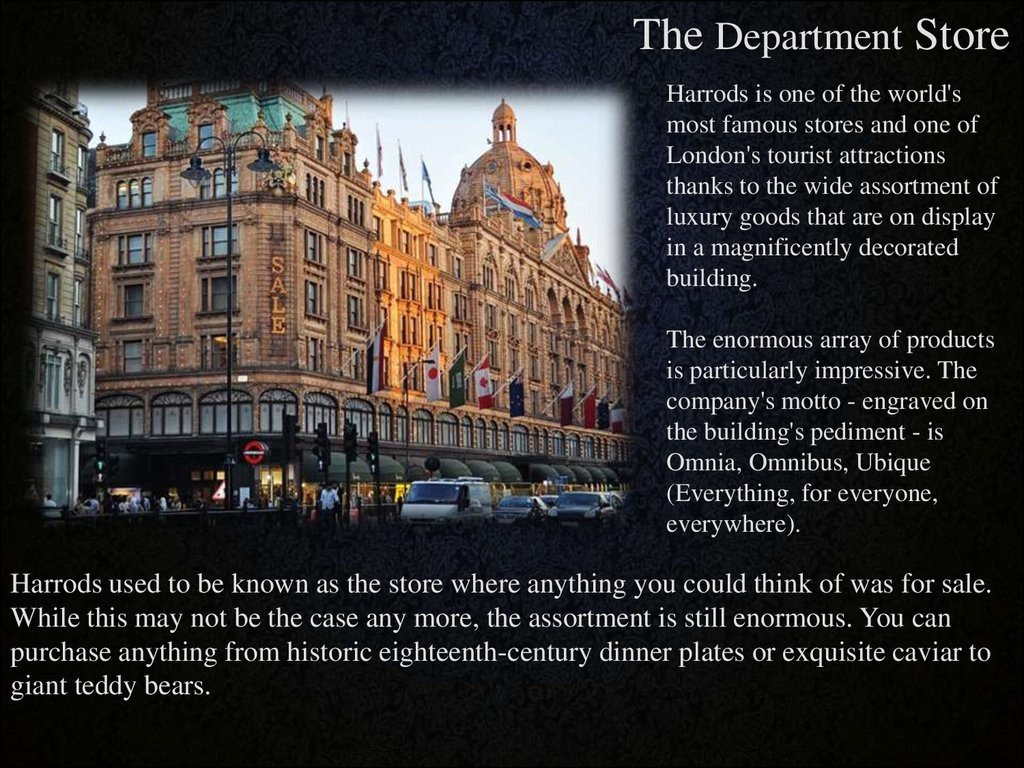 5. & Attractions of Great Britain - online presentation