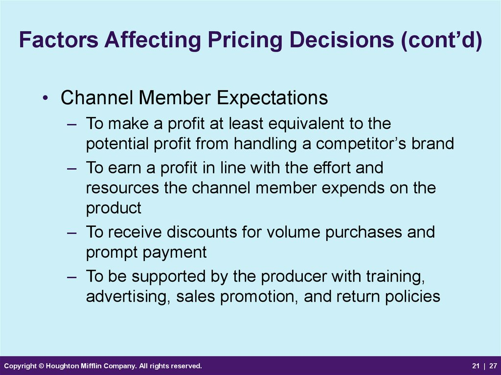 factors that affect sales promotion How can the answer be improved.