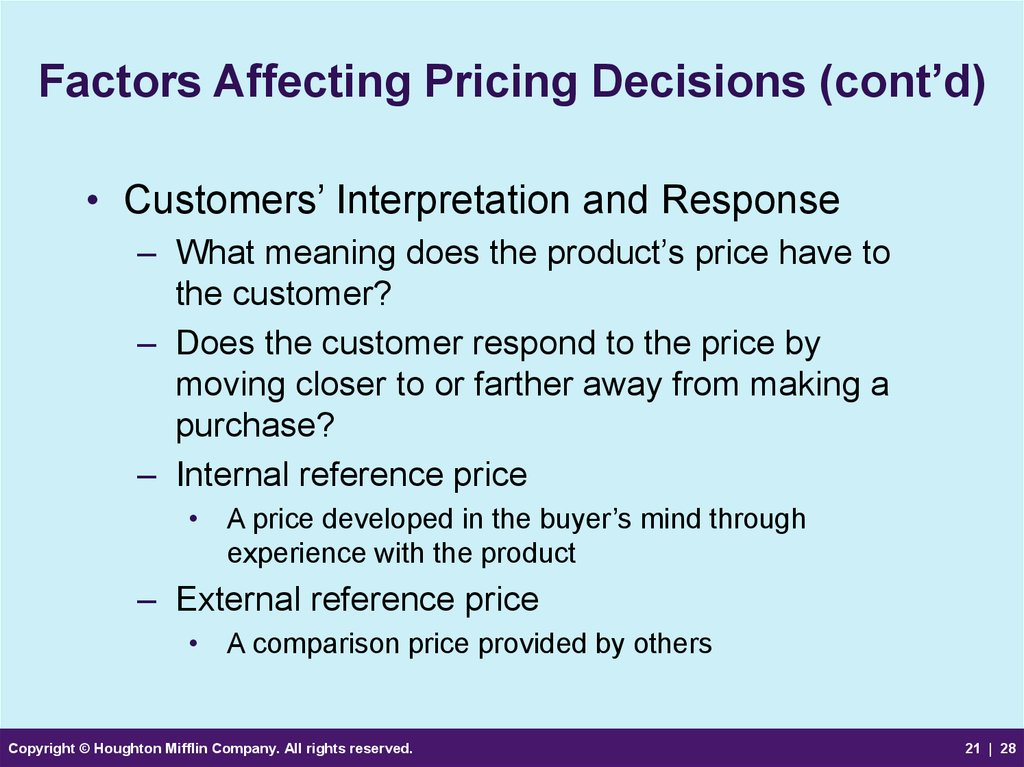 factors affecting financial decisions Financial decisions are rarely made based solely on an objective look at the numbers people are social creatures, and therefore social factors influence actions when it comes to handling and investing money businesses use techniques leveraging these tendencies to tailor their products and services to their target market.