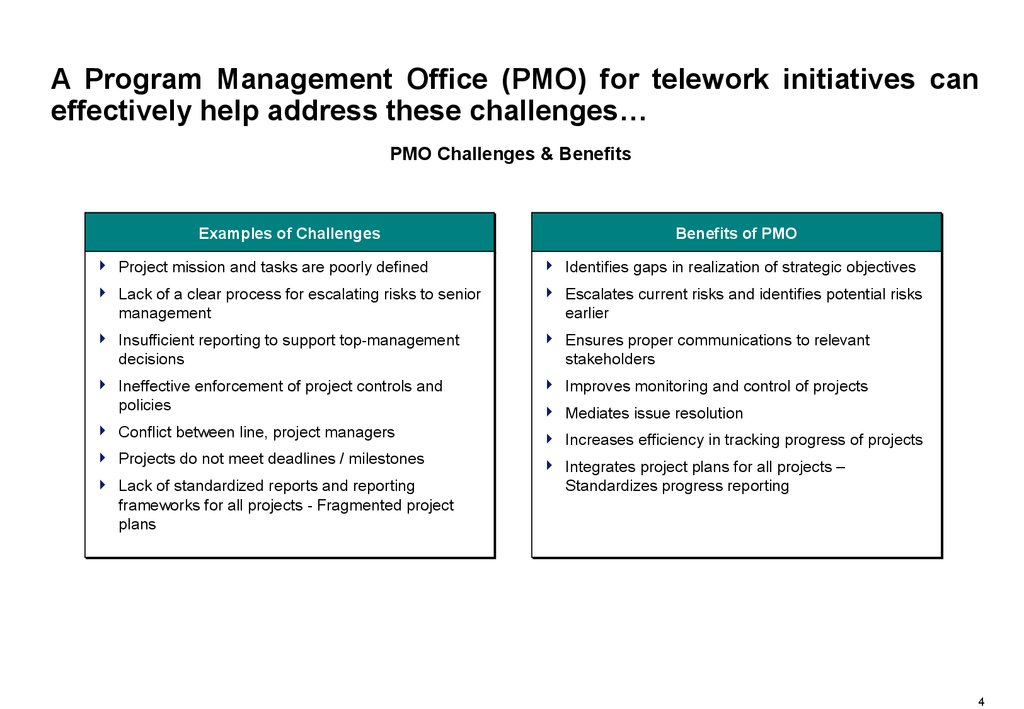 program management office  pmo