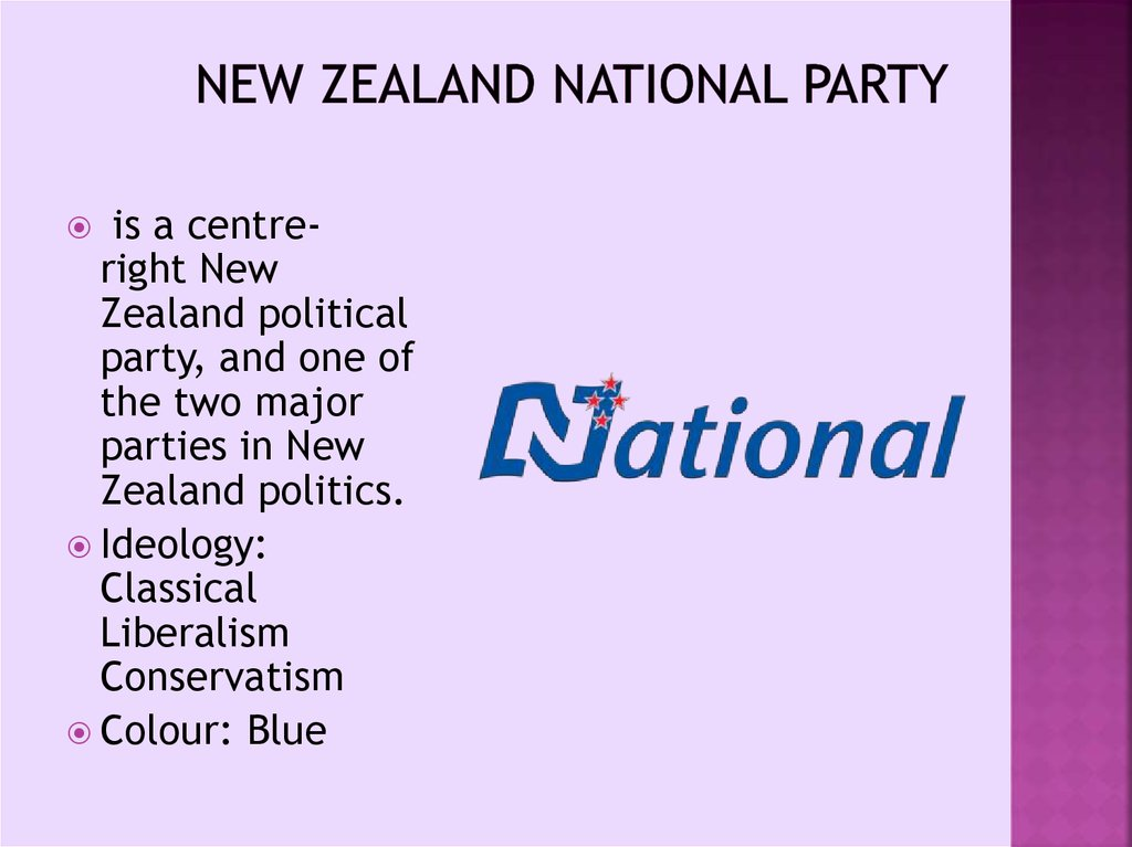New Zealand National Party