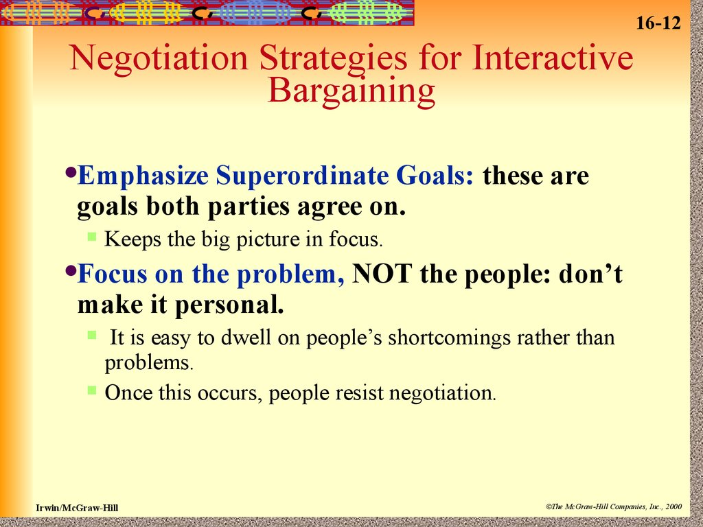 negotiation strategy analysis 2 essay Batnas are critical to negotiation because you cannot make a wise decision about whether to accept a negotiated agreement unless you know what your alternatives are if you are offered a used car for $7,500, but there's an even better one at another dealer for $6,500--the $6,500 car is your batna.