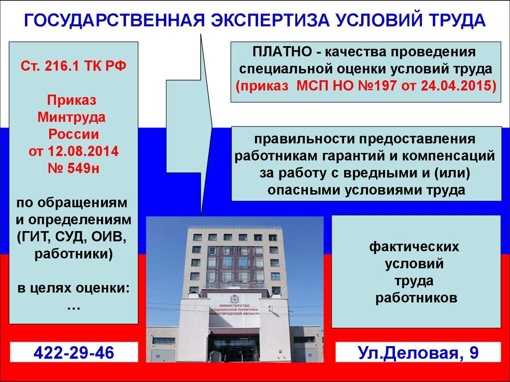 Система государственного управления охраной труда online.