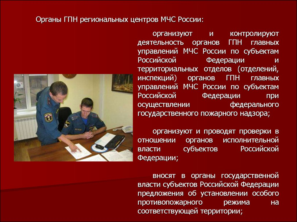 Инструкция по осуществлению государственного пожарного надзора в рф