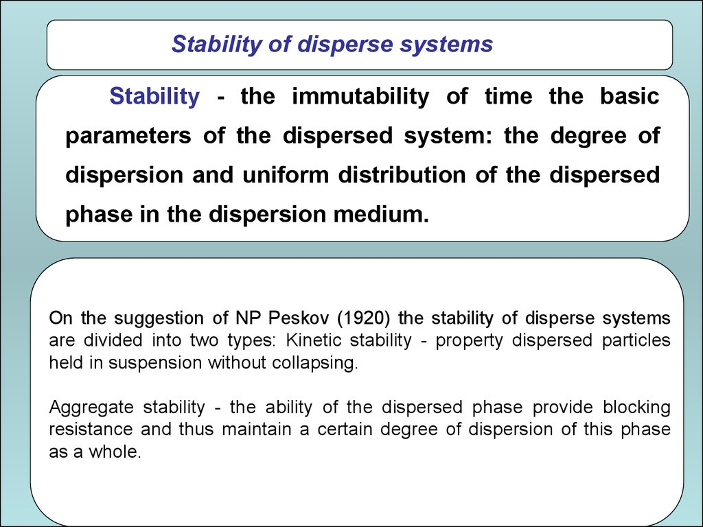 Chemistry. Dispersed systems - what is it 74