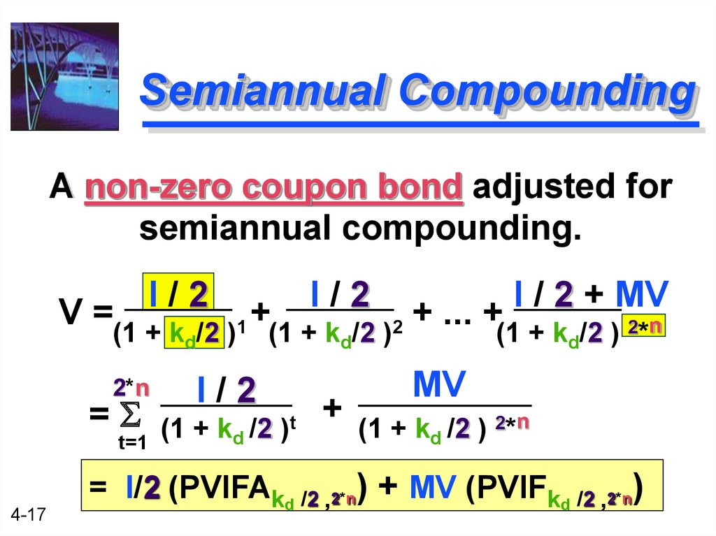 Semiannual Compounding