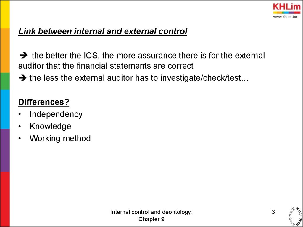 difference between internal control and internal audit pdf