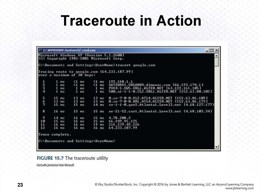 Traceroute in Action