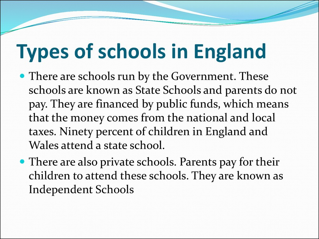 type of government in england and