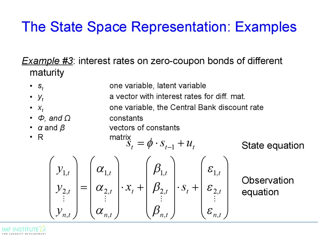 Ppt state space representation: powerpoint presentation, free.