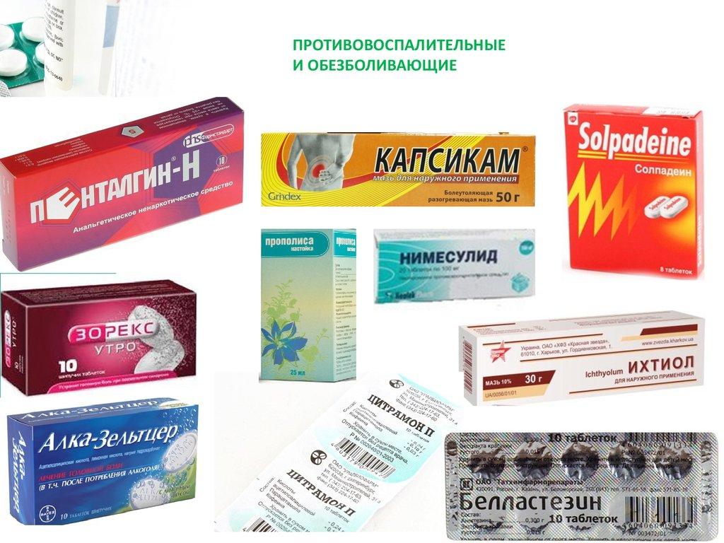 Обезболивающее при болях в стопе