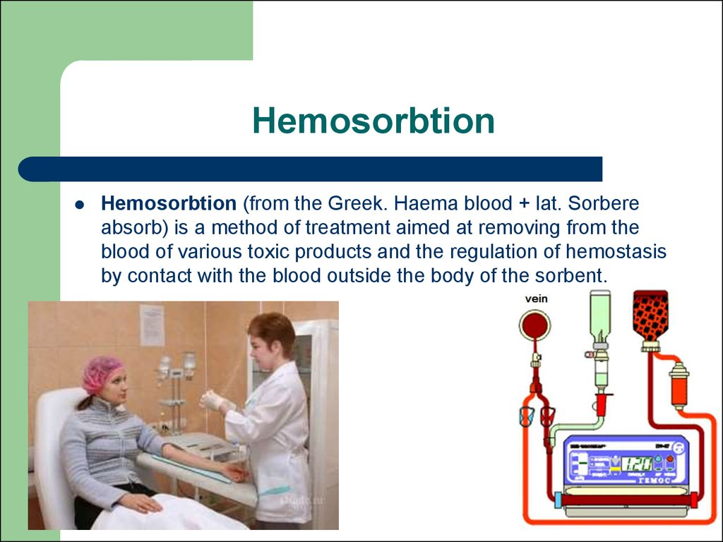 Hemosorbtion