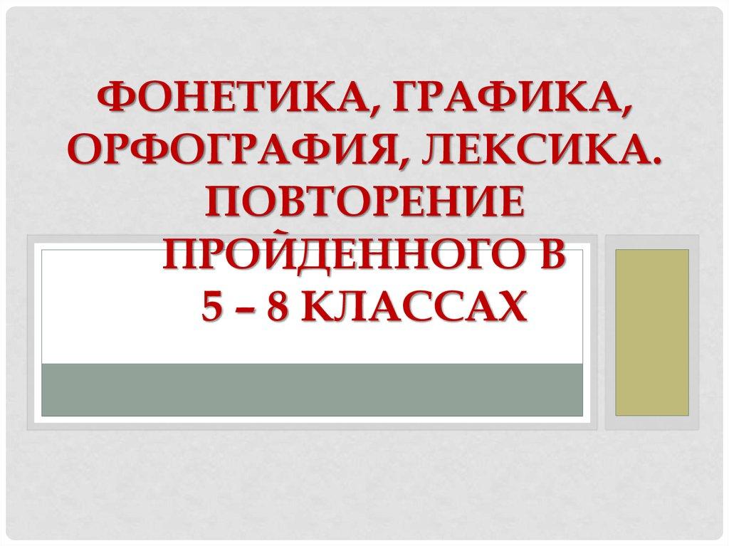 Реферат фонетика и графика 625