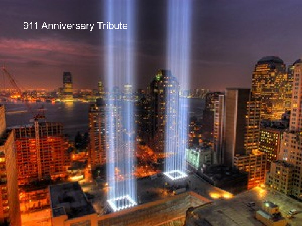 Image result for pictures of 911 memorial lights images