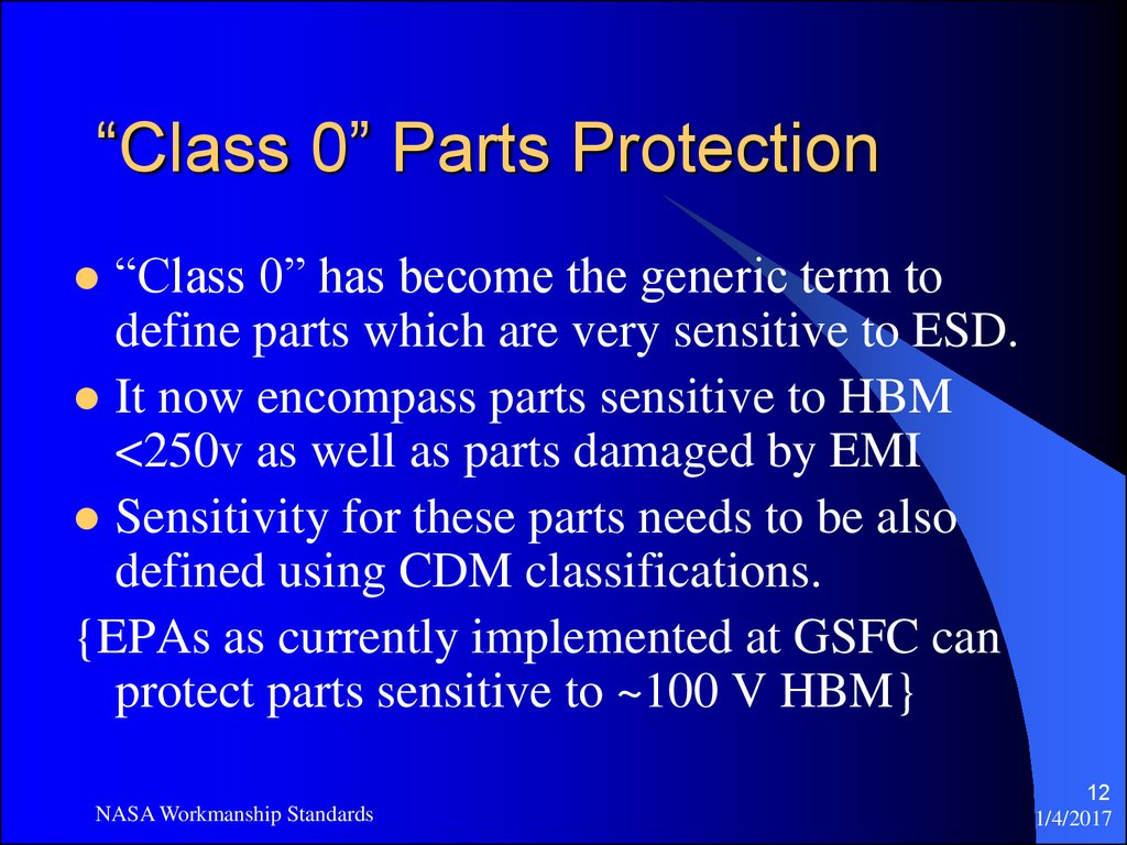 """Class 0"" Parts Protection"