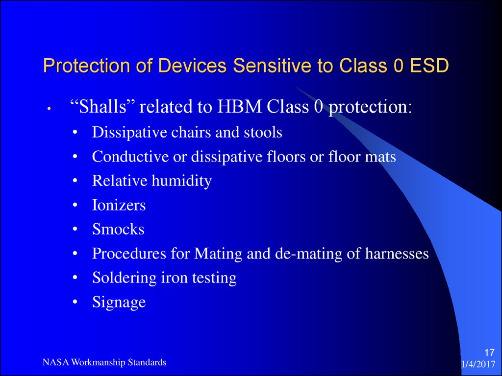 Protection of Devices Sensitive to Class 0 ESD