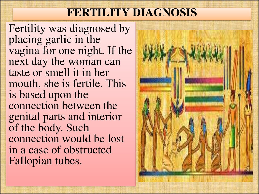 FERTILITY DIAGNOSIS