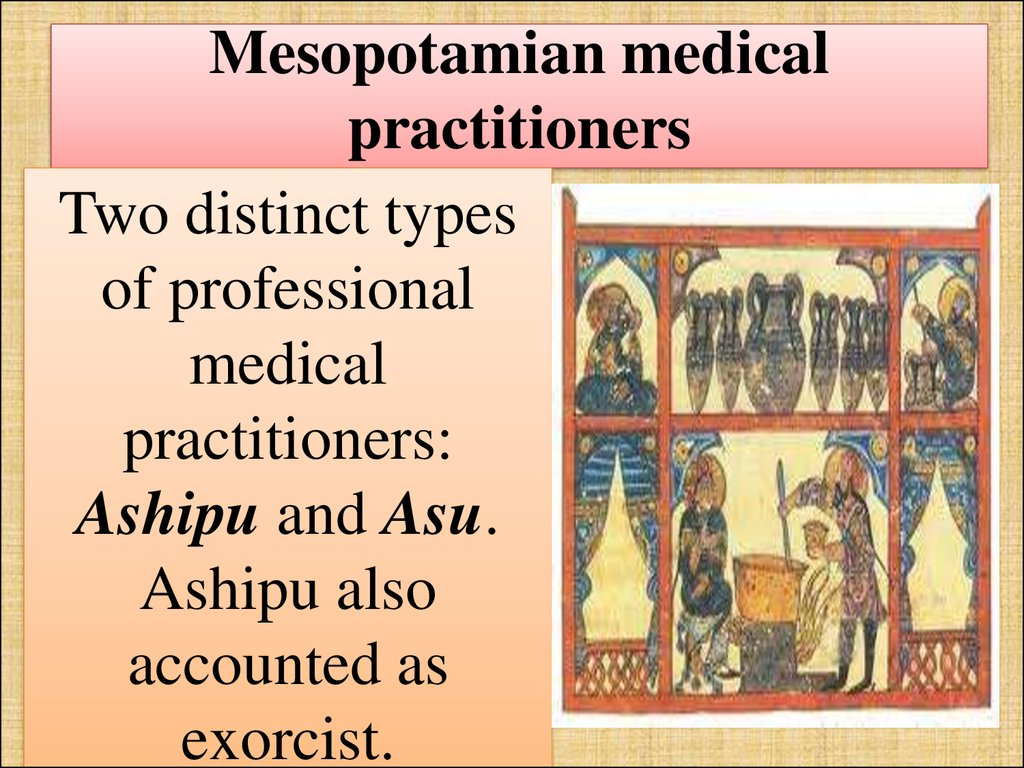 Mesopotamian medical practitioners