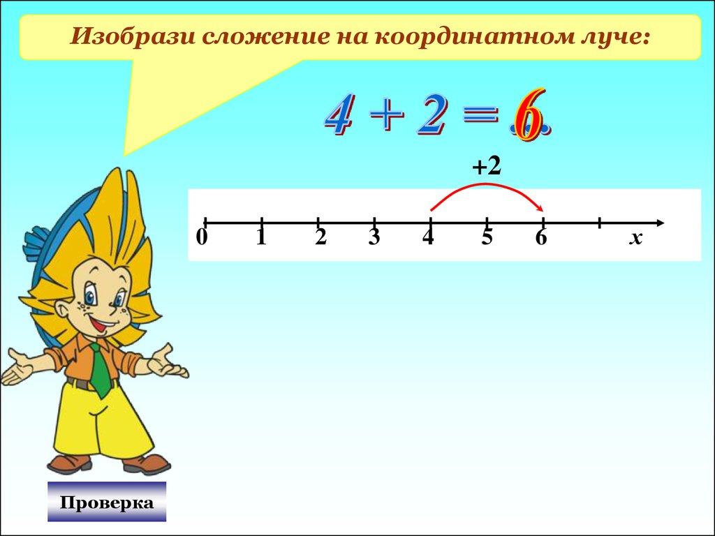 При мы сложения натуральных чисел в 5 классе