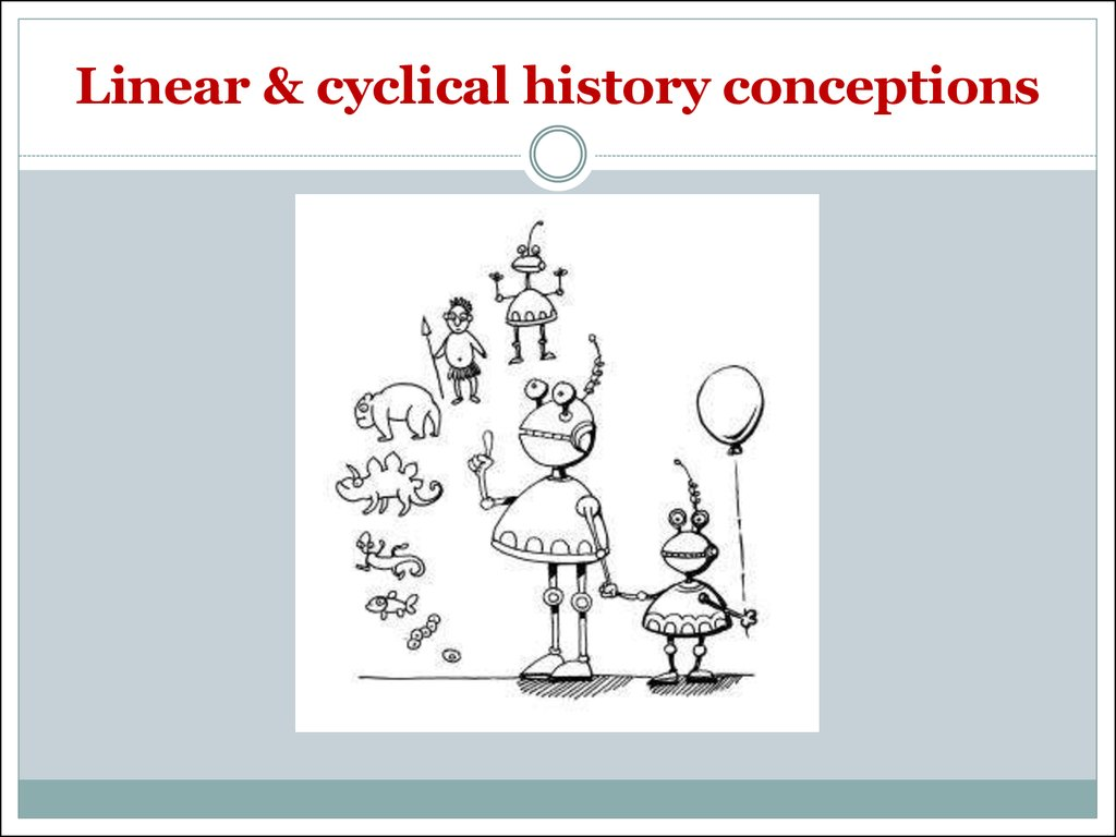 Linear & cyclical history conceptions