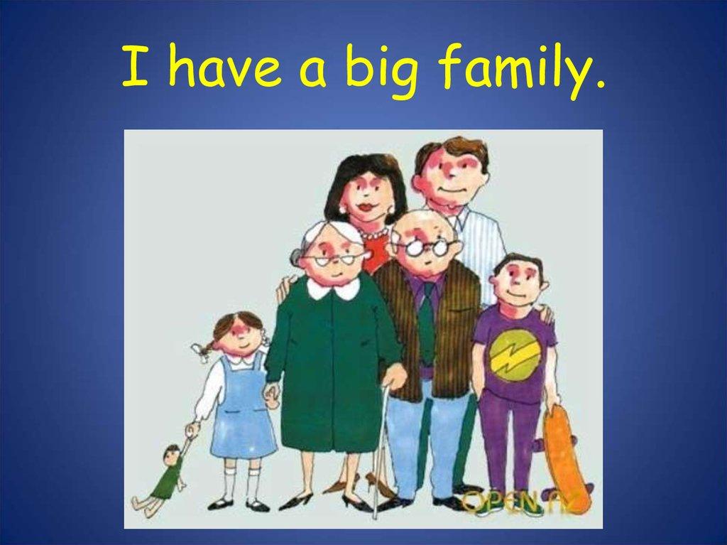 My family - online presentation