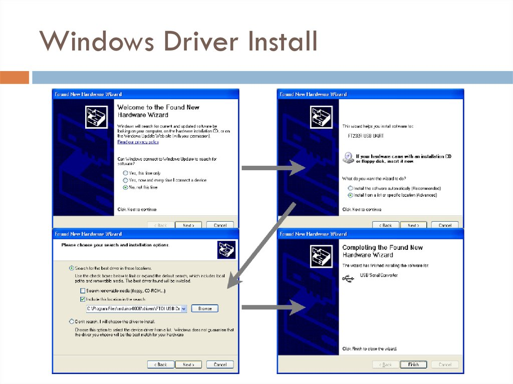 Windows Driver Install