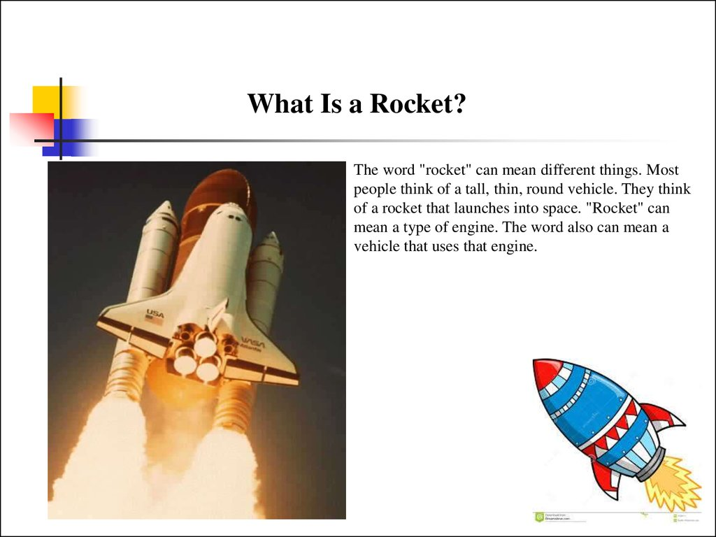 What Is Rocket презентация онлайн