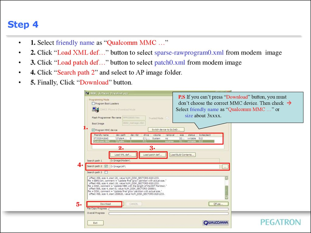 MSM8960] SOP of Image Download - презентация онлайн
