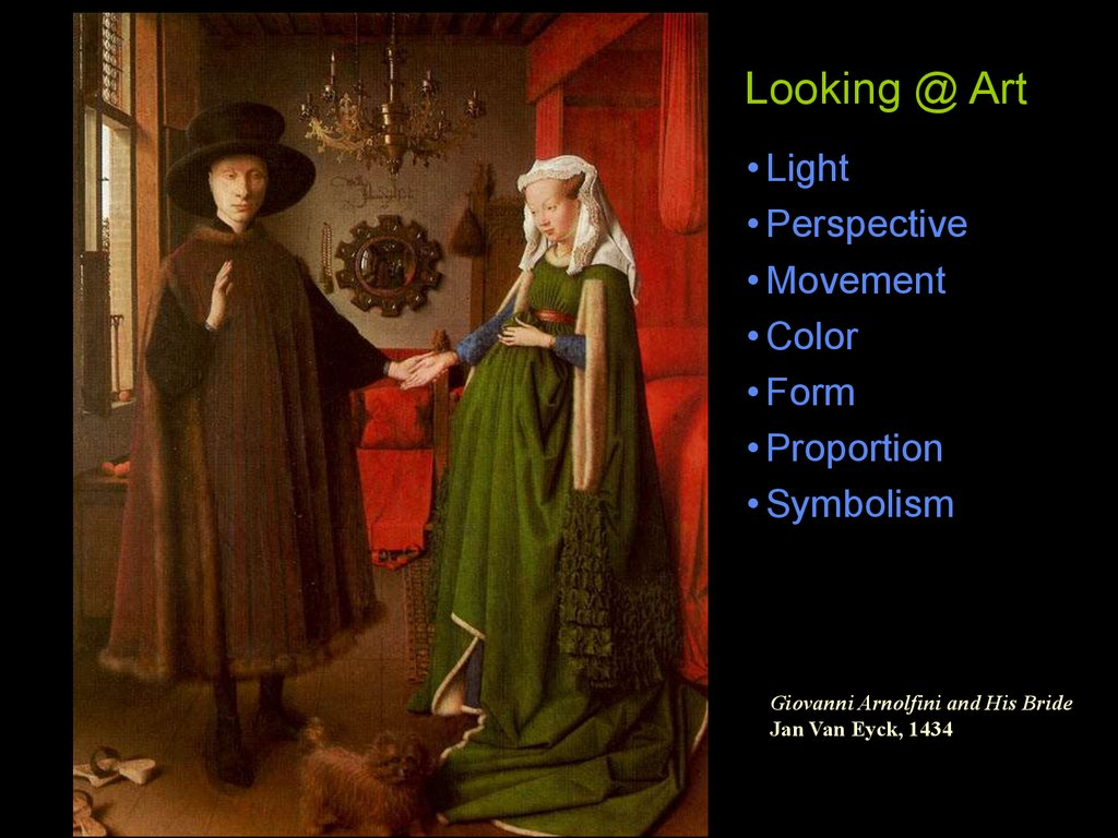 arnolfini and his bride symbolism
