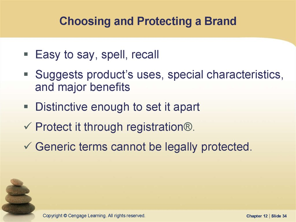 Choosing and Protecting a Brand